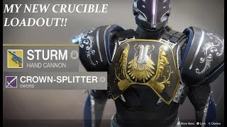 Destiny 2 Crucible - MY NEW LOADOUT!