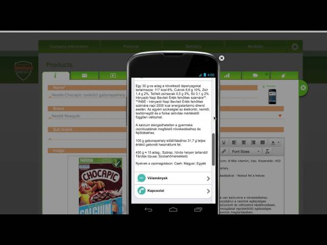 Mobile Engagement Platform from Product Barcode 1D Scanning