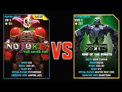REAL STEEL WRB No Joke VS Zeus (Champion) New Robots UPDATE