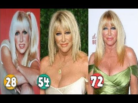 Suzanne Somers ♕ Transformation From 28 To 72 Years OLD