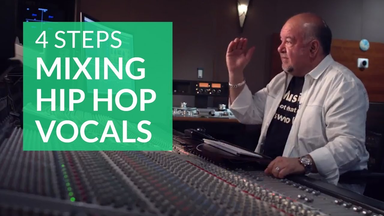 4 Steps to Mixing Hip Hop Vocals