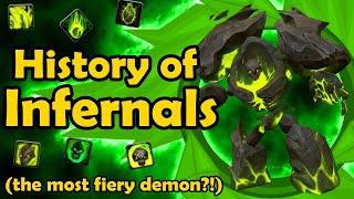 History of the Warlock Infernal (Vanilla WoW to BFA)