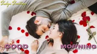 Good Morning lovely status video/with Hindi song// greetings// good wishes