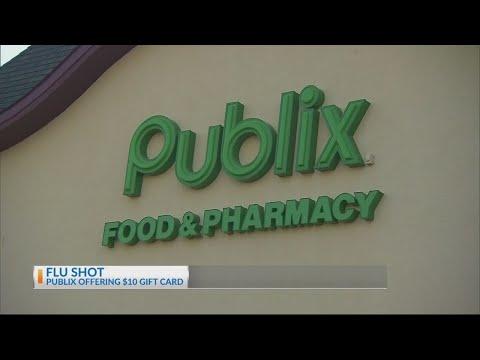 Publix Offering Giftcards For Flu Shots