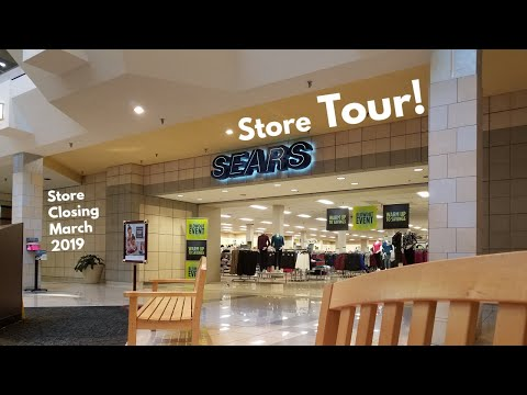 STORE TOUR: Sears, CherryVale Mall, Cherry Valley, IL (STORE CLOSING)