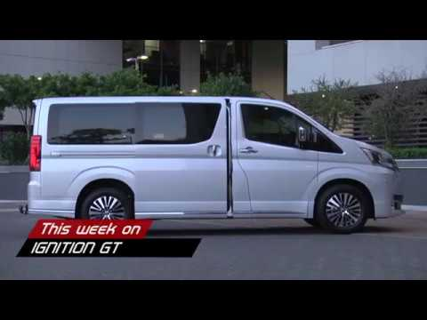 Ignition Gt Introducing The New People Mover From Toyota The Quantum Vx Youtube