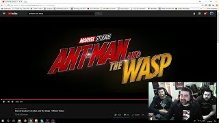 Ant and The Wasp Angry Trailer Reaction