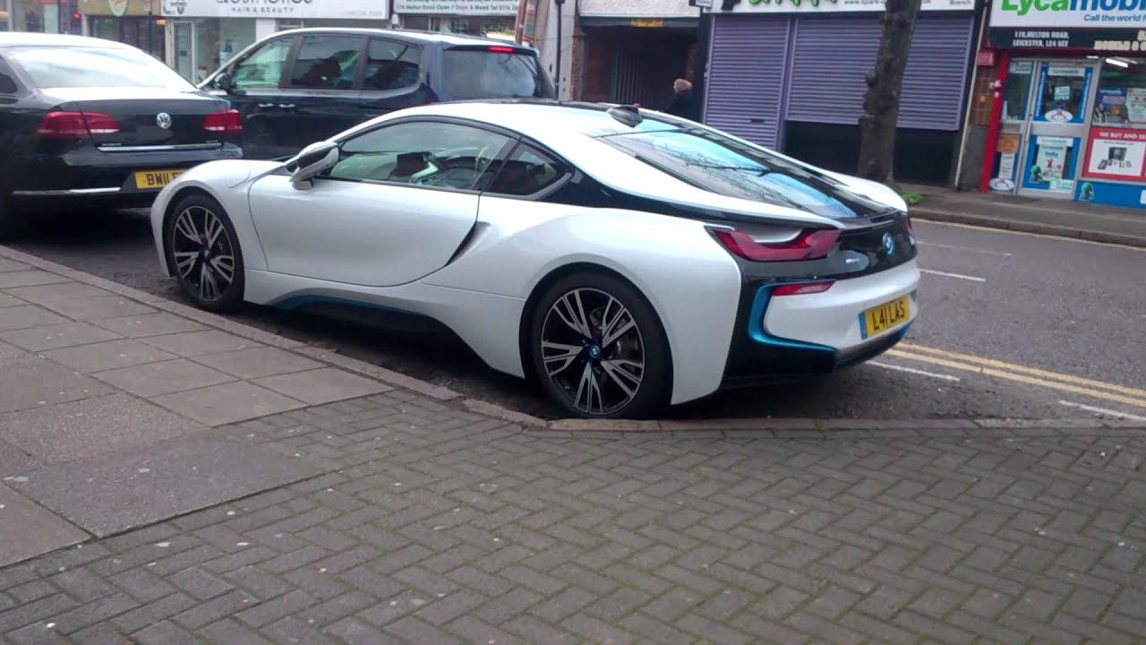 Bmw I8 In Leicester Youtube