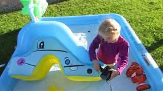 Fun Water Playground and Plastics Balls  Ball Pit Fun