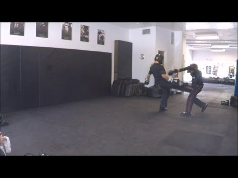 Krav Maga - Fight Class - August 26, 2017 (Countering Boxing Style Defensive Movements)