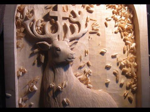 Relief Wood carving (workflow) vyřezávaný reliéf - jak na to