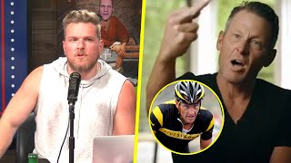 Pat McAfee Reacts To Lance Armstrong's 30 For 30