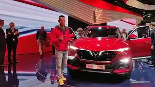 Soi chi tiết xe VINFAST tại Paris Motor Show |XEHAY.VN|