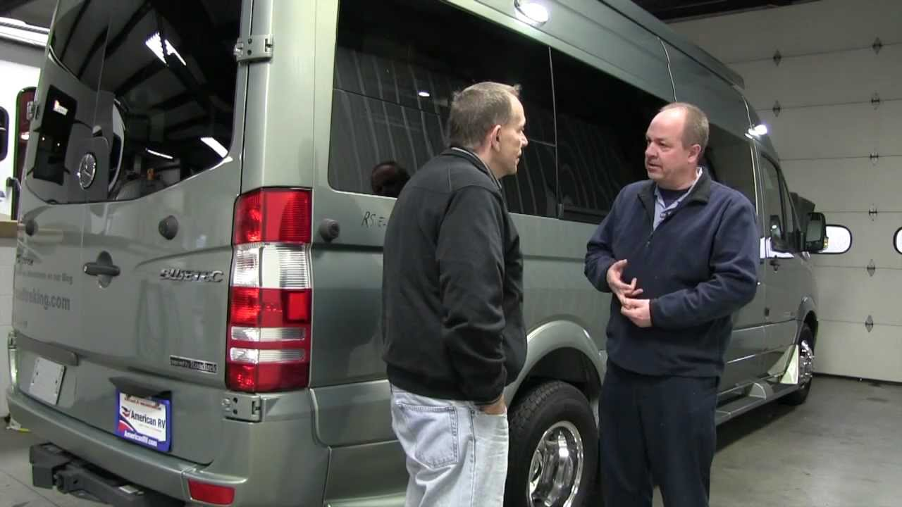 New eco-friendly, all electric eTrek Class B Motorhome now