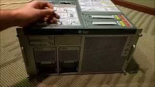 Fujitsu / Oracle / Sun SPARC Enterprise M4000 - Episode 1