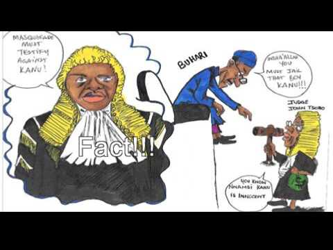 NNAMDI KANU WAS RIGHT: THERE IS NO LAW IN THE ZOO(NIGERIA).