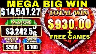 🌟MEGA BIG WIN🌟 High Limit Lock It Link | Better Than HANDPAY JACKPOT | Heavenly Riches Slot Play