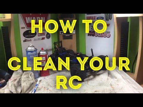 How to properly clean your RC Car (Scorpion_Rc)
