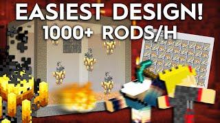 Minecraft Blaze Farm - 1000+ Rods Per Hour - 1.16