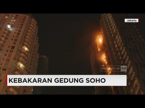 Kebakaran Hebat Landa Gedung Neo Soho
