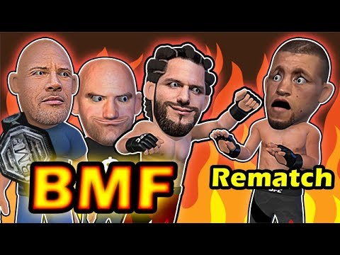 Jorge Masvidal Vs Nate Diaz For The BMF BELT