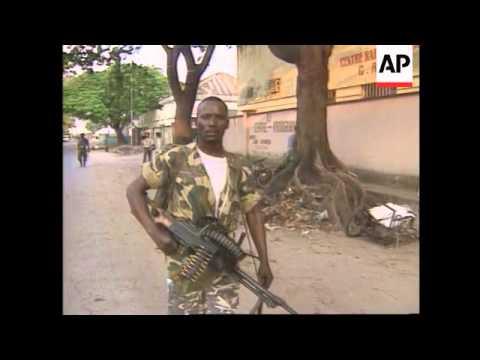 Zaire - Rebels arrive in Kinshasa