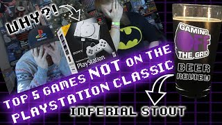 Top 5 Games NOT On The PlayStation Classic - Sony... You