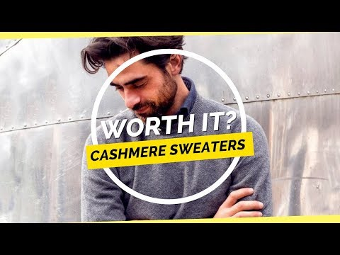 Worth It? Cashmere Sweaters