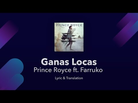 Prince Royce - Ganas Locas ft. Farruko Lyrics English and Spanish - Translation