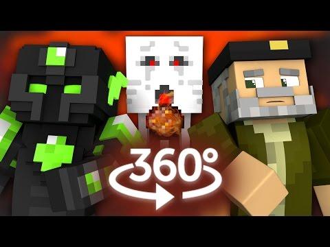 MINECRAFT 360º | WILLYREX VS sTaXx | Batalla de Explosiones