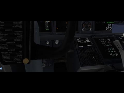 X-Plane 11 / Trying New Boeing 737-9 ul EGCC to LGKR