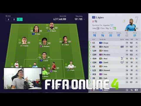 """FIFA ONLINE 4: ĐI CHỢ BUILD DÀN TEAM CHELSEA, ARGENTINA """" NGON - BỔ - RẺ """" 1 TỶ KHỦNG NHẤT TẦM GIÁ"""
