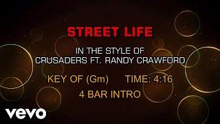 Crusaders Ft. Randy Crawford - Street Life (Karaoke)