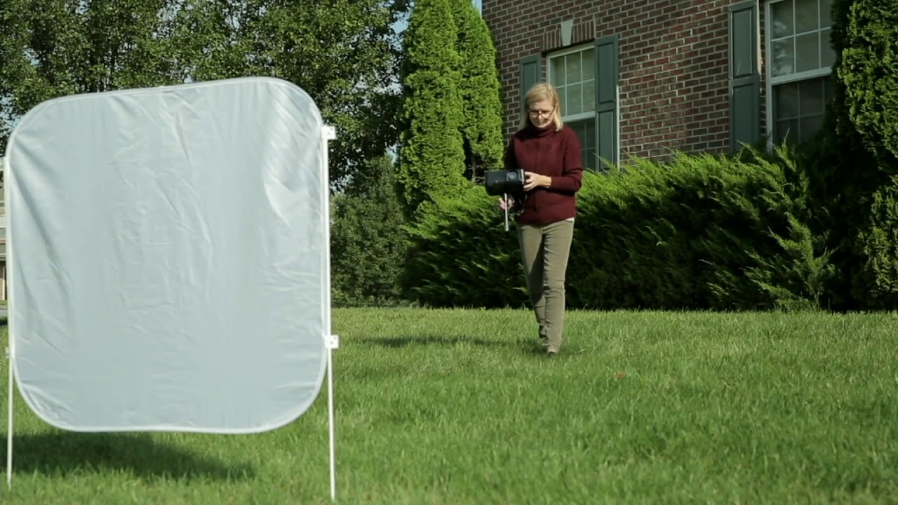 mr christmas indooroutdoor virtual projector with pop up screen on qvc - Christmas Projector Outdoor