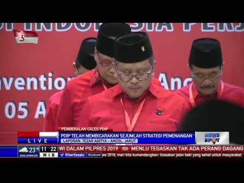 Mega Beri Pembekalan 575 Bacaleg PDIP