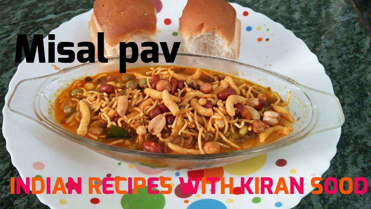 Misal Pav - Maharashtrian recipe - YouTube