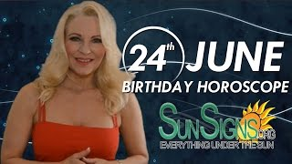 Birthday June 24th Horoscope Personality Zodiac Sign Cancer Astrology