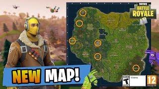 Fortnite new map update new city - Fortnite Battle Royale