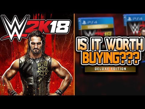 "WWE 2K18 Deluxe Edition ""IS IT WORTH BUYING???"""