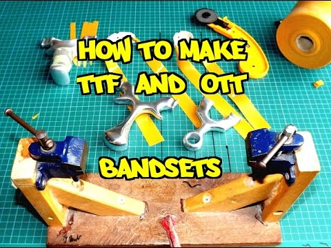 HOW TO MAKE TTF & OTT CATAPULT / SLINGSHOT BANDS