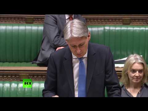 LIVE: Chancellor Philip Hammond opens Day 3 of #WithdrawalAgreement debate