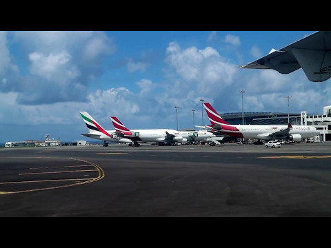 Mauritius Airport 1.4.2017 just landed