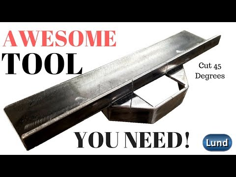SHOP BUILT  Portable Band Saw CUTTING JIG is AWESOME!