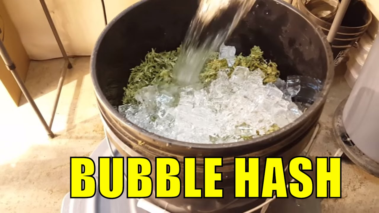 how to make bubble hash dabbable