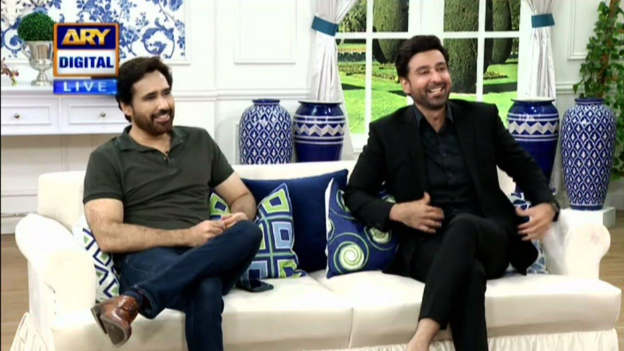 Let's Welcome Your Favorite Sami Khan & Taifoor Khan - Good Morning Pakistan