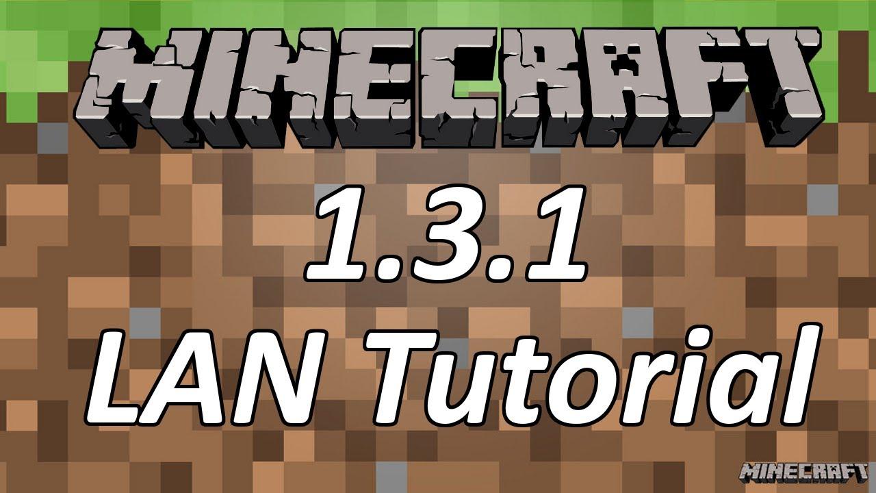 Minecraft Tutorial LAN Server Update YouTube - Minecraft lan server erstellen 1 8