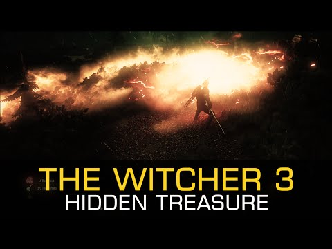 Hidden Treasure TOUGH LUCK DIAGRAM PRECISION BOLT - The Witcher 3 Wild Hunt Gameplay PC