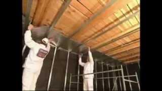 видео Как установить пленочный теплый пол на стены или потолок своими руками