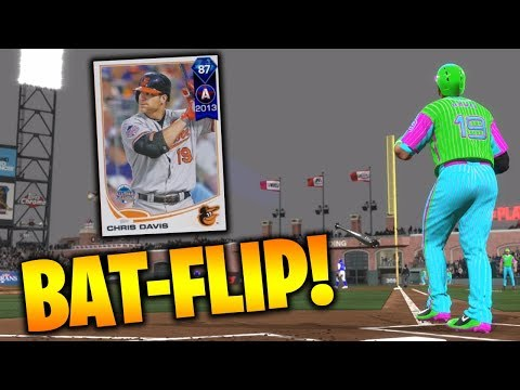 87 Chris Davis CRUSHES The Ball! MLB The Show 18 Battle Royale Gameplay