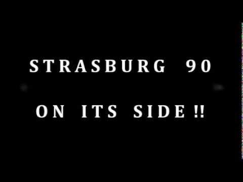 Strasburg 90 On Its Side
